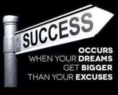 Never short change your dreams.