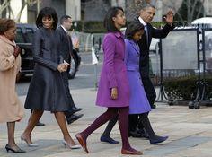 The Obama Family  Inauguration January 21, 2013