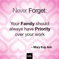 This is my favourite Mary Kay quote and I do my best to live up to this standard.