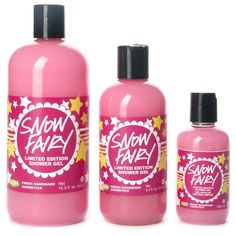 Snow Fairy Shower Gel - sweet, sparkly, and candy scented gel!