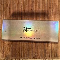 IT cosmetics CC+ radiance palette IT cosmetics CC+ radiance palette! Only used bronzer twice, other parts were not used. Beautiful shades for almost any skin color! IT cosmetics Makeup Bronzer
