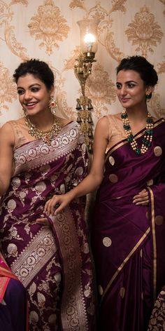 Best Designer Sarees, Buy Designer Sarees Online, Indian Gowns Dresses, Brocade Dresses, Silk Saree Banarasi, Saree Floral, Indian Bridal Outfits, Saree Trends, Stylish Sarees
