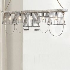 This would be a perfect fixture in a farmhouse kitchen.