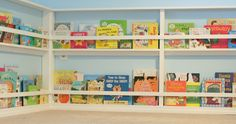 Playroom Design: Our Reading Room from Fun at Home with Kids