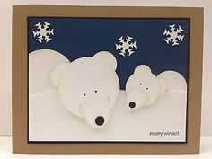 stampin up polar bears images - Google Search