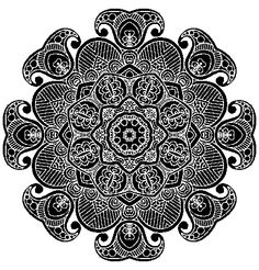 Jesters Zentangle Doodle Drawing White on Black by *KatAhrens on deviantART