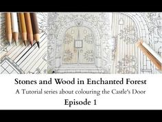 Stones and Wood in Enchanted Forest - Episode 8 - creating more contrast - YouTube