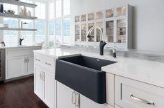 BLANCO IKON™ Apron Front single bowl from granite composite!