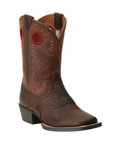 Smoky Mountain 3034 TODDLER//CHILD//YOUTH Denver Brown Western Boots