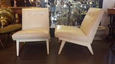 Pair of Jens Risom Lounge chairs. image 4