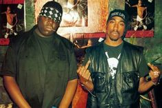 Tupac with Biggie