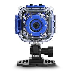 DROGRACE Children Kids Camera Waterproof Digital Video HD Action Camera Sports Camera Camcorder DV for Boys Birthday Holiday Gift Learn Camera Toy 177 LCD Screen Navy Blue * Click image for more details. Toy Camera, Sports Camera, Mini Camera, 8 Year Old Boy, Kids Electronics, Waterproof Camera, Sports Gifts, Video Camera, Camcorder