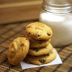 Grain free chocolate chip cookies!