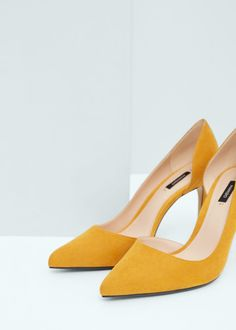 fbdaf54d Asymetric stiletto shoes | MANGO Zapatos, Zapatos De Tacón De Aguja, Zapatos  De Gamuza