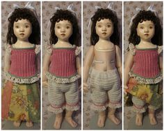 By Hook, By Hand: Crochet for Victoria DiPietro's Portrait Doll.