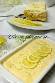 Zitronentiramisu… luftig, frisch und sehr lecker Lemon tiramisu … airy, fresh and very tasty Lemon Desserts, Lemon Recipes, Sweet Recipes, Cake Recipes, Dessert Recipes, Brownie Recipes, Food Cakes, Lemon Tiramisu, Winter Desserts