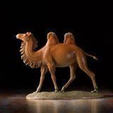 Bronze art sculpture of walking camel for home decoration.   #Lovollect #bronze #sculpture #camel #HomeDecor #ornaments