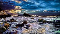 Rocky Cove Hdr Wide Wallpaper 498454