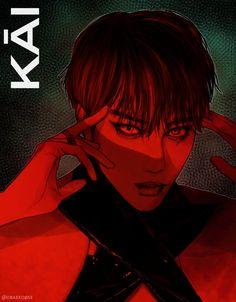 Kāi - credits to whom it may concern - Baekhyun Chanyeol, Exo Kai, Kpop Exo, Steven Universe, Exo Fan Art, Fanarts Anime, Exo Members, Kpop Fanart, Anime Girls