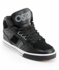 Osiris NYC 83 Black, Charcoal, & White Skate Shoe at Zumiez : PDP