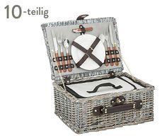 Picknickkoffer Camargue für 2 Personen, 10-tlg., B 35 cm