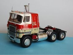 Big Rig Trucks, Rc Trucks, Custom Trucks, Cool Trucks, Plastic Model Kits, Plastic Models, Model Truck Kits, Truck Scales, Truck Engine