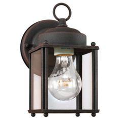 Charlton Home Lowell 1 Light Wall Lantern & Reviews | Wayfair