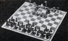 "The March, 1934 issue of Modern Mechanix introduced this remarkable Depression-era chess-variant that pitted ""agitators"" against ""engineers."