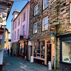 Fowey in Cornwall, Cornwall Fowey Cornwall, Devon And Cornwall, Cornwall England, England Uk, South West Coast Path, Fear Of Flying, British Countryside, House By The Sea, Truro