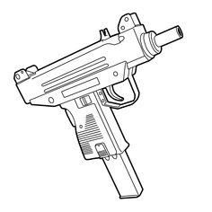 Uzi SMG gun tattoo stick and poke design by me insta: sotkxworkx Gangster Tattoos, Dope Tattoos, Body Art Tattoos, Tattoos For Guys, Gun Tattoos, Bear Tattoos, White Tattoos, Tattoo Sleeve Designs, Sleeve Tattoos