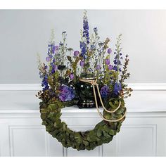 Memorial wreath.