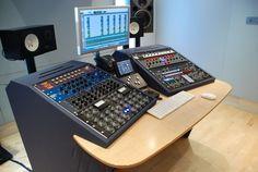 Blue Pro Mastering Studios in London, UK. Miloco's Mastering Studios: http://www.miloco.co.uk/studios/mastering-studios/ 5555555555555555555555555