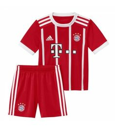 Bayern Munich Home Kids Soccer Kit Children Shirt And Shorts - Cheap Football Shirts Store Soccer Shop, Soccer Kits, Kids Soccer, Football Boys, Bayern Munich Shirt, Maillot Bayern Munich, Cheap Football Shirts, Kids Shirts, Premier League
