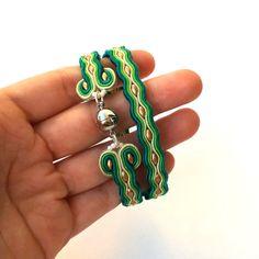 Wrap bracelet soutache bracelet Unisex bracelet от SaboDesign