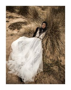 V-neckline bodice with beaded edges and French lace decorated with seed beads and handmade flowers. Soft Italian tulle skirt.  @letitialeleofficial #spring2020 #bridalgown #campaign Creative Direction & Photographer: Tibi Clenci (@tibiclenci) Make-up: Genny Matea (@gennymatea) Hair: Adonis Enache (@adonisenache) Styling: Cristina Craciun (@cristinacraciun) Model: Ioni Guraliuc (@ioniguraliuc), One Models Romania (@onemodelsromania)