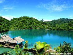 Another tourist destination discovered in Mindanao, Libtong's Blue Lagoon in Cantilan Surigao del Sur.