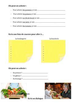 ALIMENTATION :: Le français