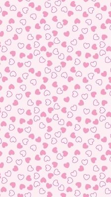 Wall paper pink heart wall papers ideas for 2019