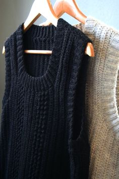 Dette Crochet Vest Pattern, Knitting Patterns, Knit Crochet, Crochet Patterns, Crotchet, His Dark Materials, Scandinavian Fashion, Crochet Clothes, Sport Outfits