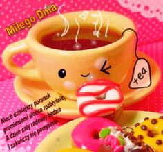 Good Morning Gif, Origami, Tea Cups, Humor, Mugs, Sweet, Funny, Inspiration, Messages