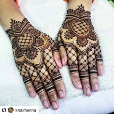 Follow us @hennafamily#hennafamily Repost @khairhenna  For @inahmj and it was a pleasure to have adorned her hand on her big day! Great to see you ladies again! In sha Allah in the future too! Barak Allahu Feekum dear!  --- 2016 & 2017 SLOTS ARE OPEN.  For bookings & enquiries: info.khairhenna@gmail.com Whatsapp: 9073 7296 --- #henna #hennainspire #hennaart #bridalsg #hennasg  #kahwin #inaisg #bodyart #singapore #hennadesigns #mehndi #mehndiart #mehndisg #design #dulhan #malaywedding #inai…