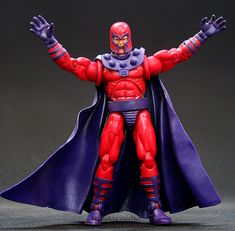 Marvel Legends X-Men Legends Magneto // Pinned by: Marvelicious Toys - The Marvel Universe Toy & Collectibles Podcast [ m a r v e l i c i o u s t o y s . c o m ]