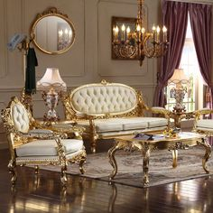 Sofa Set Designs, Furniture Sets Design, Wooden Sofa Designs, Furniture Sofa Set, Wooden Sofa Set, Royal Furniture, Home Decor Furniture, Luxury Furniture, Antique Furniture