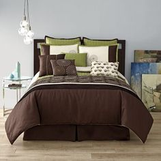 JCPenney Home Expressions GALAXY 10 Piece COMFORTER SET Retail Up to $300  #JCPenney #Modern