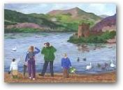 Monster Hunt, Loch Ness - SOLD  » Click to zoom ->