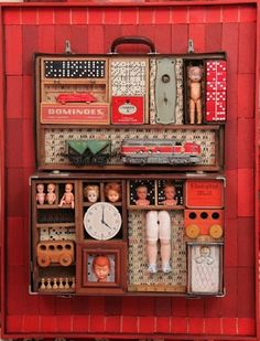 Susan O'Doherty      Capsule #2, 2012      mixed media assemblage      90 x 70 x 20cm      $ 2,800