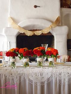 Jesenná rustikálna svadobná výzdoba /Autumn rustic wedding decoration