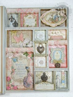 Annette's Creative Journey: Gilded Lily Configurations Book Box
