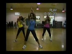 An old video that I found on youtube of my Zumba instructor... TEAM ANIKA!