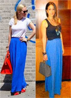 Right only..blue maxi